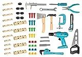 HAZET Kinder Junior-Tools Spielzeugsatz, HZblau, Rechteckig