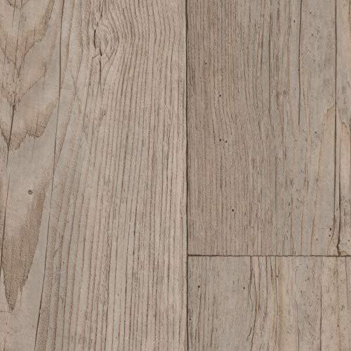 PVC Vinyl-Bodenbelag Landhaus Winterpinie | CV PVC-Belag verfügbar in der Breite 200 cm & Länge 350 cm | CV-Boden wird in benötigter Größe als Meterware geliefert & trittschalldämmend