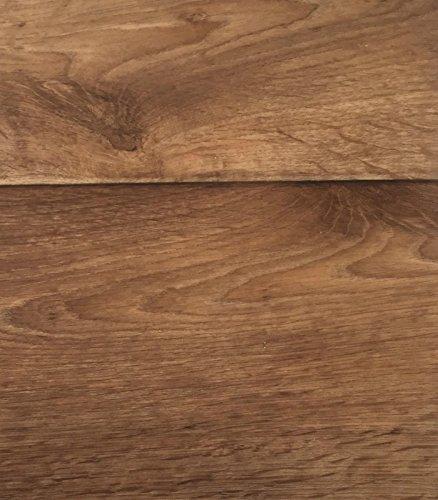 PVC Vinyl-Bodenbelag in Holz Optik Birne | CV PVC-Belag verfügbar in der Breite 200 cm & Länge 350 cm | CV-Boden wird in benötigter Größe als Meterware geliefert & trittschalldämmend