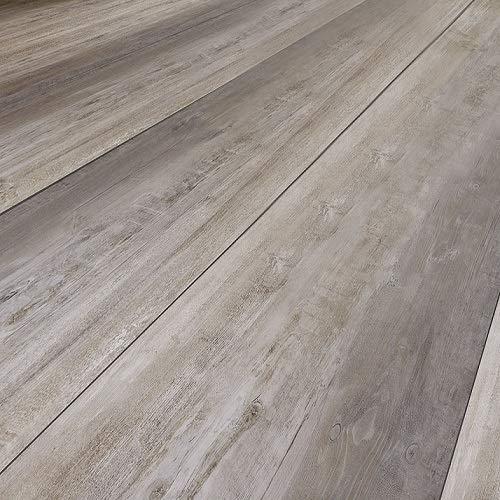 moderna Laminatboden Eiche Suna | horizon Click Bodenbelag Eiche 8mm stark ✓natürliche Tiefenholzstruktur ✓pflegeleicht & laufruhig ✓einfache Click Montage | Eiche Vintage Laminat Dielen 2,535qm