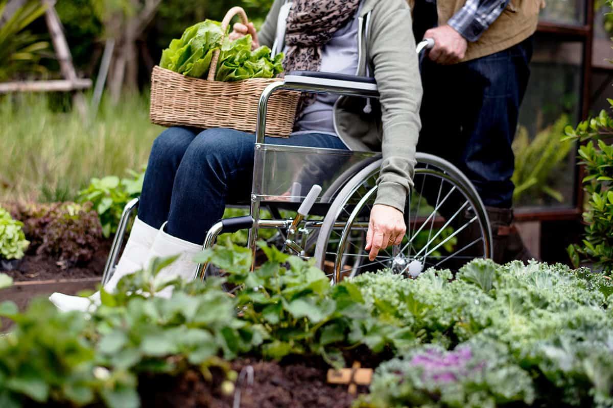 Gartenarbeit Handicap