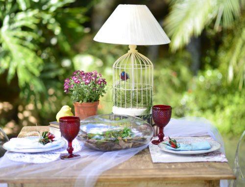 Gartenverschönerung