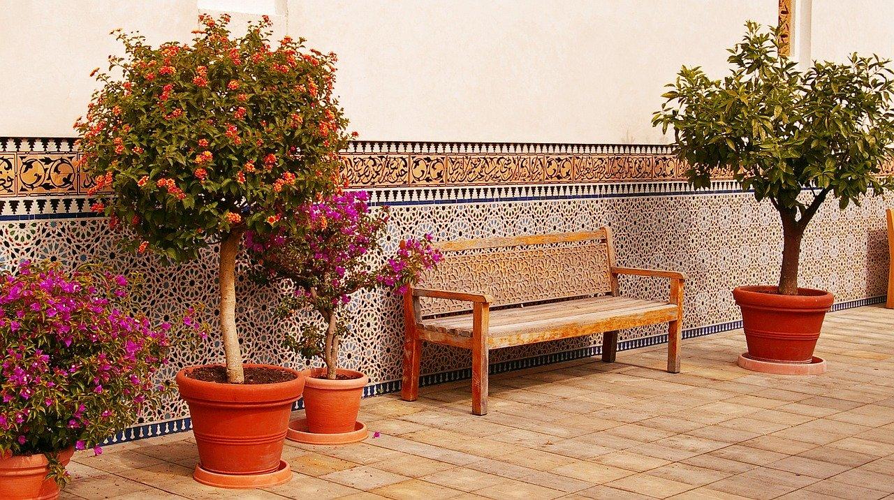 Terrakottafliesen