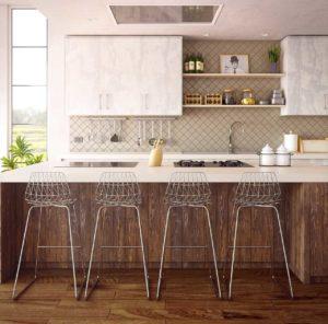 Laminat in der Küche