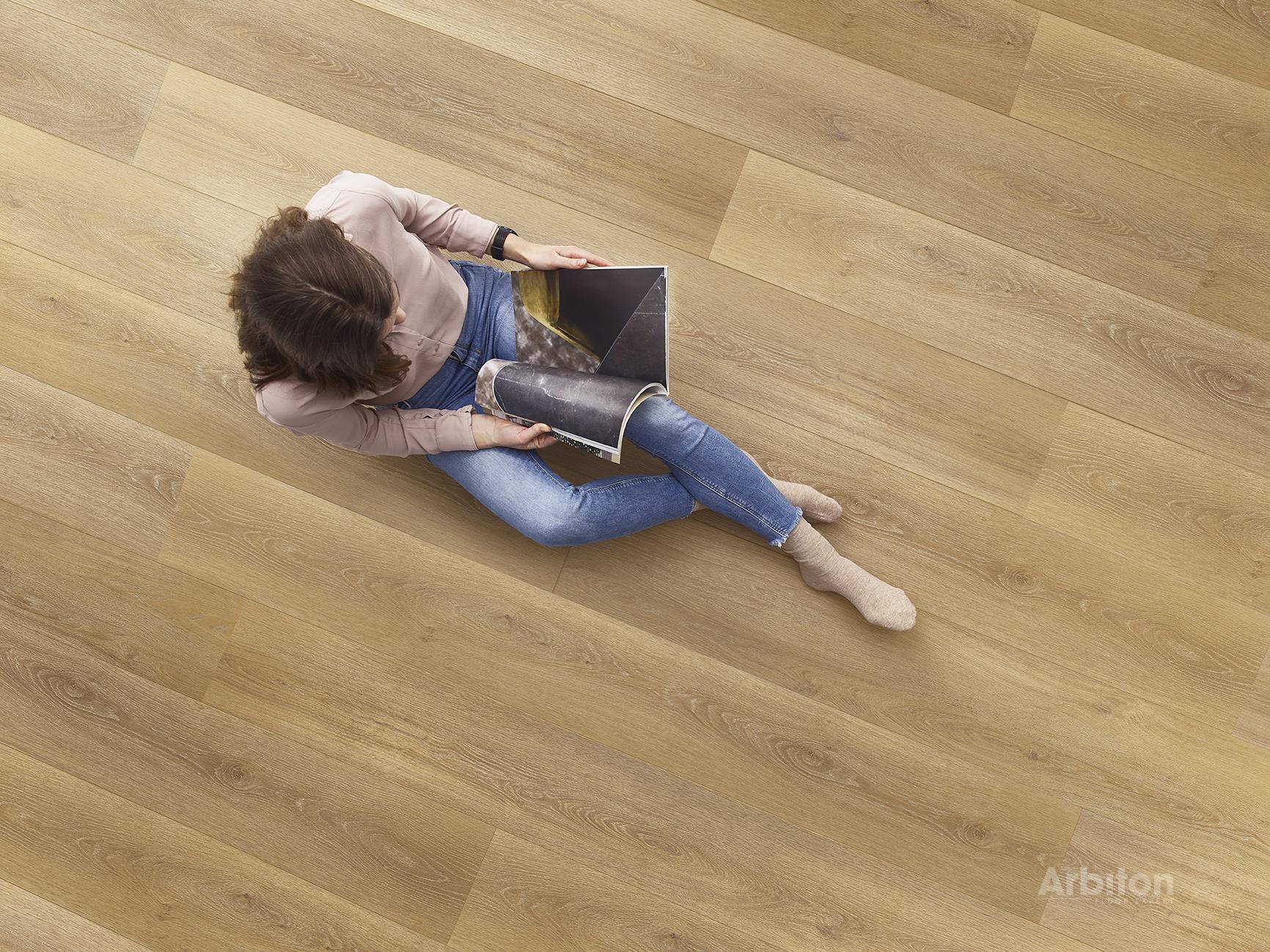 Der Boden ist das am meisten strapazierte Element in Haus und Wohnung. Bild: Arbiton.